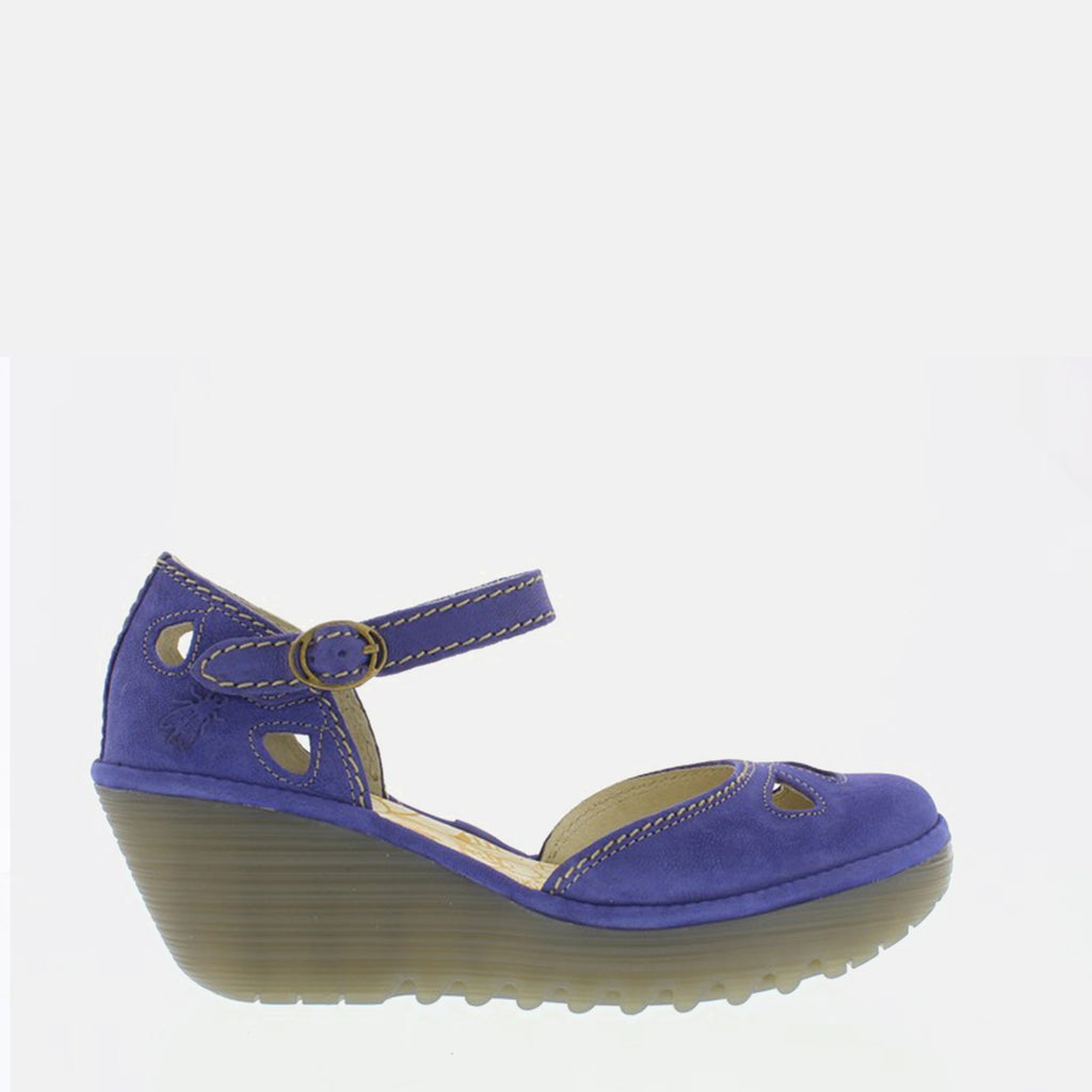 Fly London Footwear UK 3 / EU 36 / US 5.5-6 / Blue Yuna Royal Blue Cupido