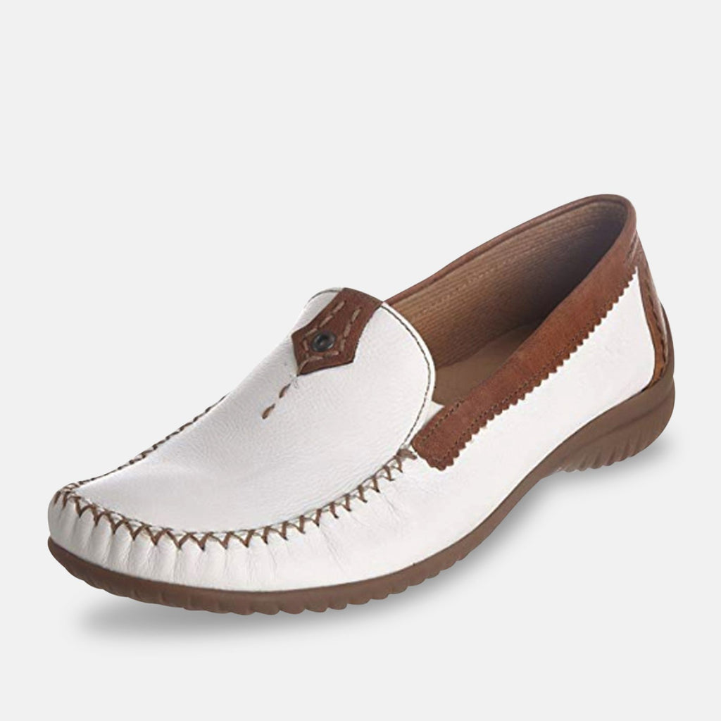 Gabor Footwear UK 9 / EU 42 / US 11 / White / Copper California 090 - White/Copper Leather 51