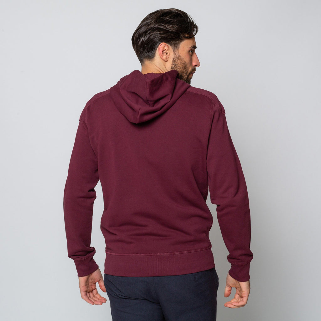 Goodwin Smith Clothing S / Maroon / Cotton BEECH MAROON