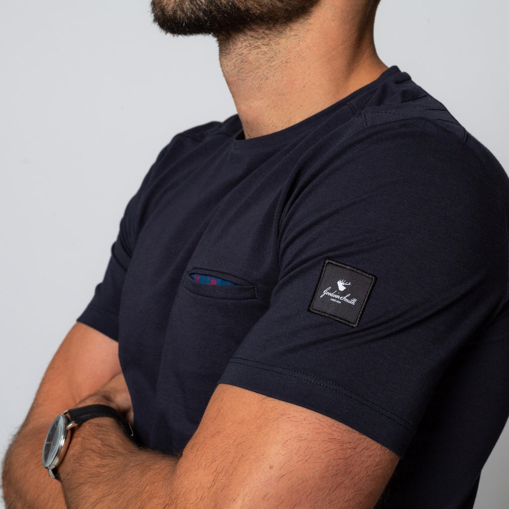 Goodwin Smith Clothing S / Navy / Cotton GROVE NAVY