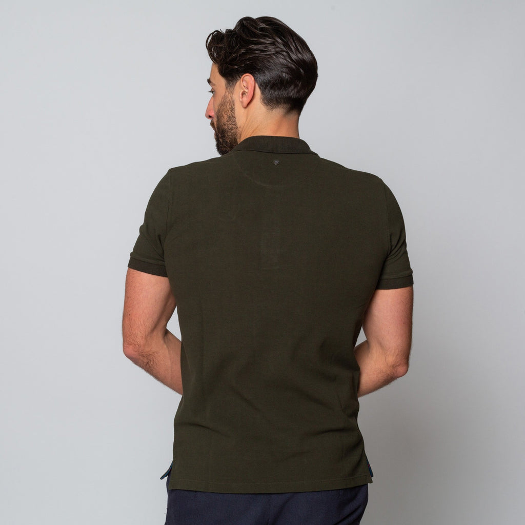 Goodwin Smith Clothing S / Khaki / Cotton Pique HINCHLEY KHAKI