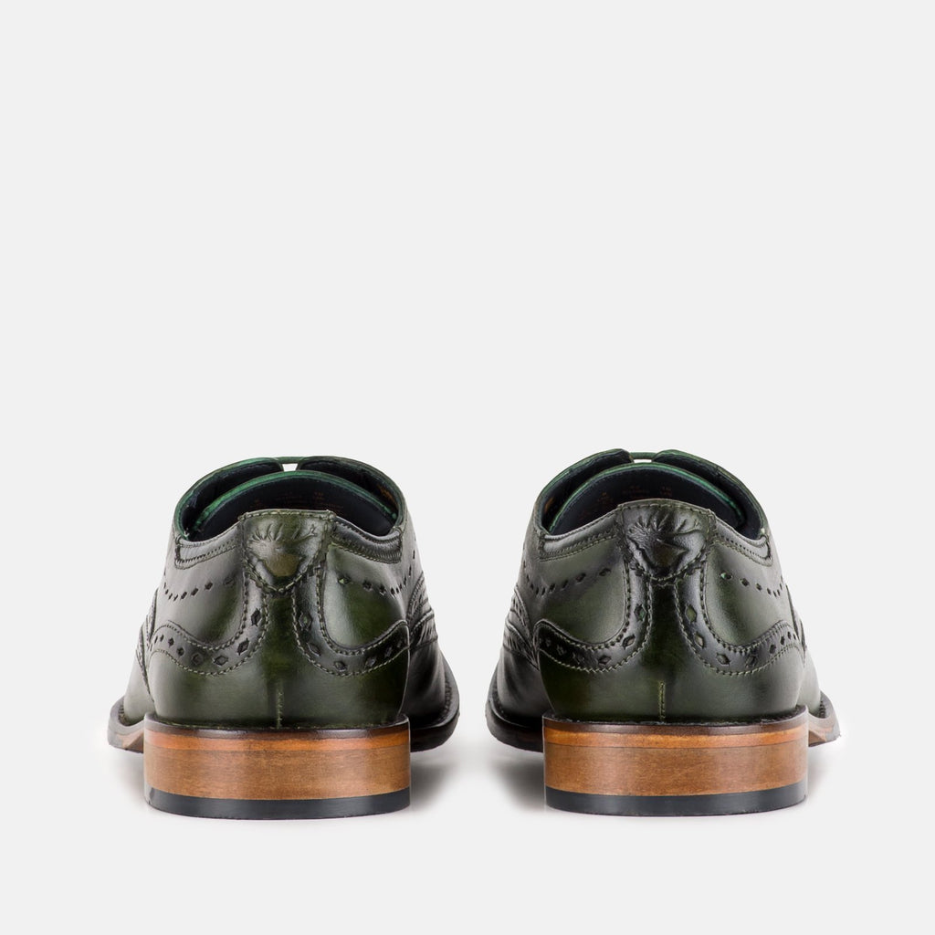 Goodwin Smith Footwear UK 6 / EU 39 / US 7 / Jade / Leather BOWLAND JADE