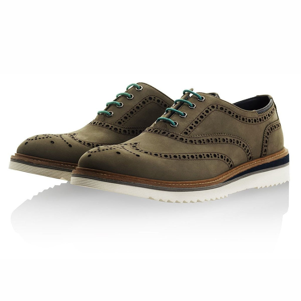 Goodwin Smith Footwear UK 6 / EU 39 / US 7 / Grey / Nubuck Calder Sage Grey