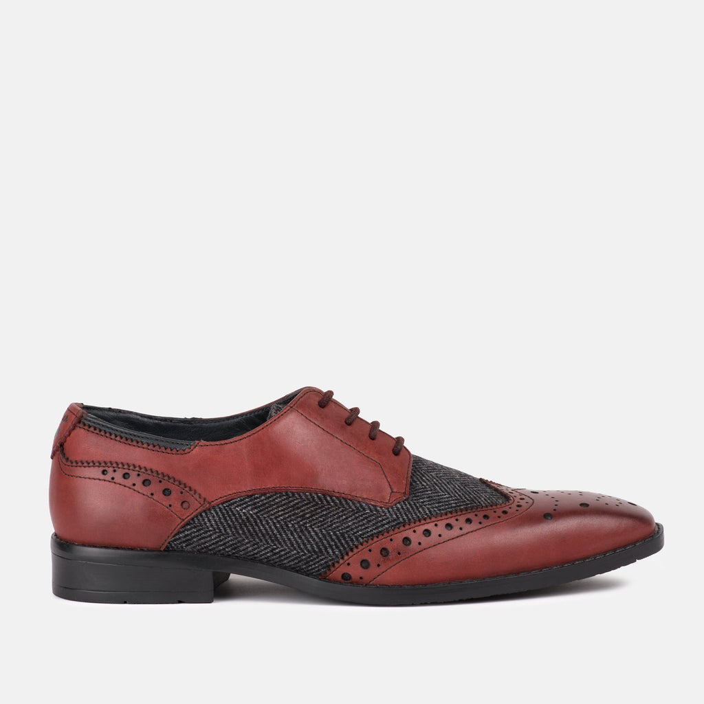 Goodwin Smith Footwear UK 6 / EU 39 / US 7 / Bordo / Leather CHAPEL BORDO