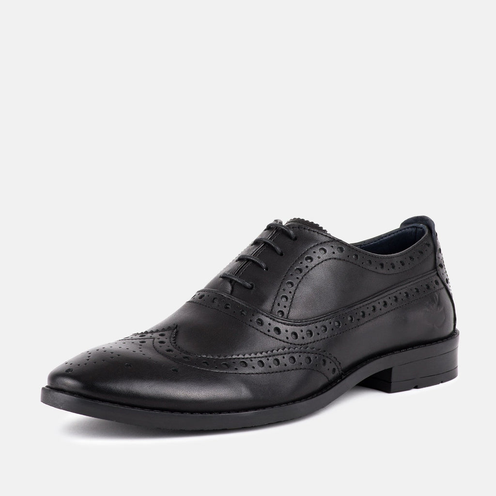 Goodwin Smith Footwear UK 6 / EU 39 / US 7 / Black / Leather CLAYTON BLACK