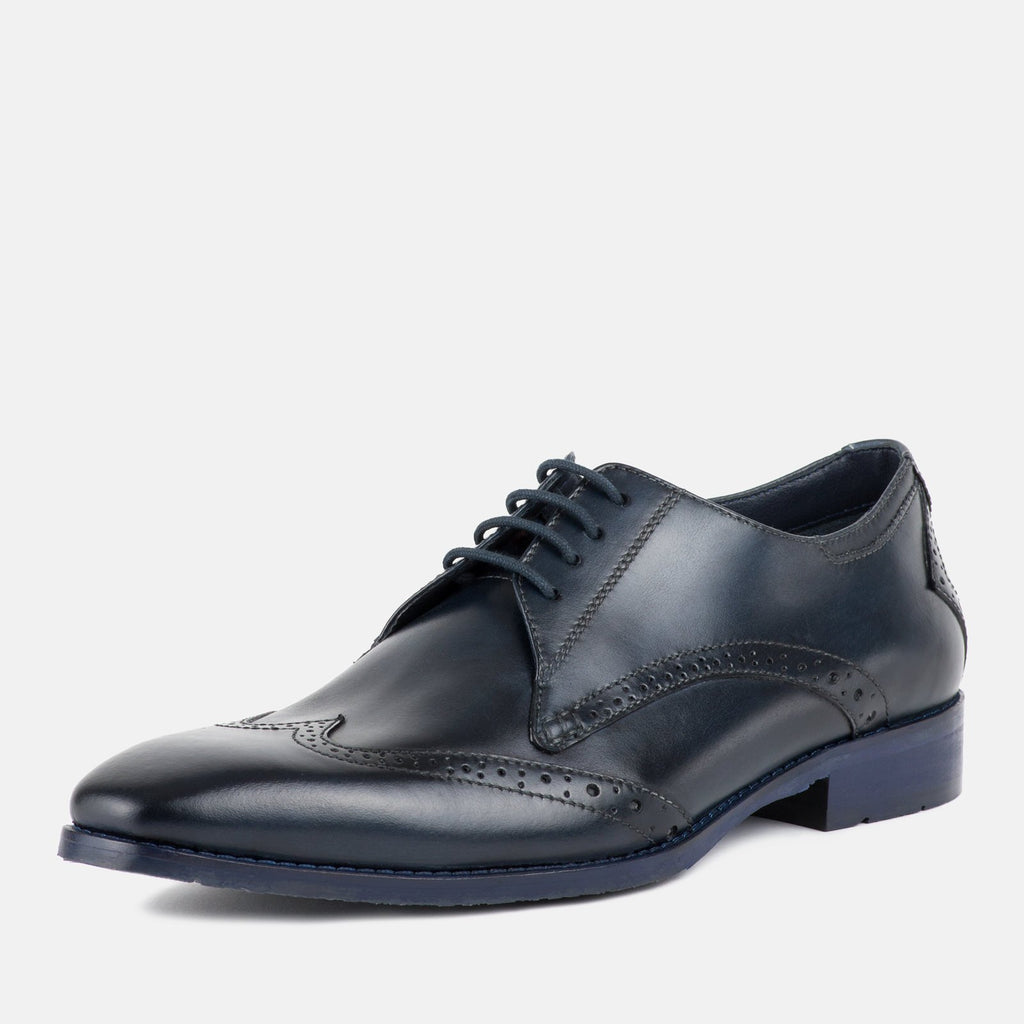 Goodwin Smith Footwear UK 6 / EU 39 / US 7 / NAVY / Leather EARBY NAVY