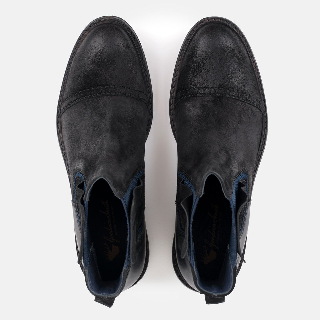 Goodwin Smith Footwear UK 6 / EU 39 / US 7 / Black / Suede FURNESS BLACK