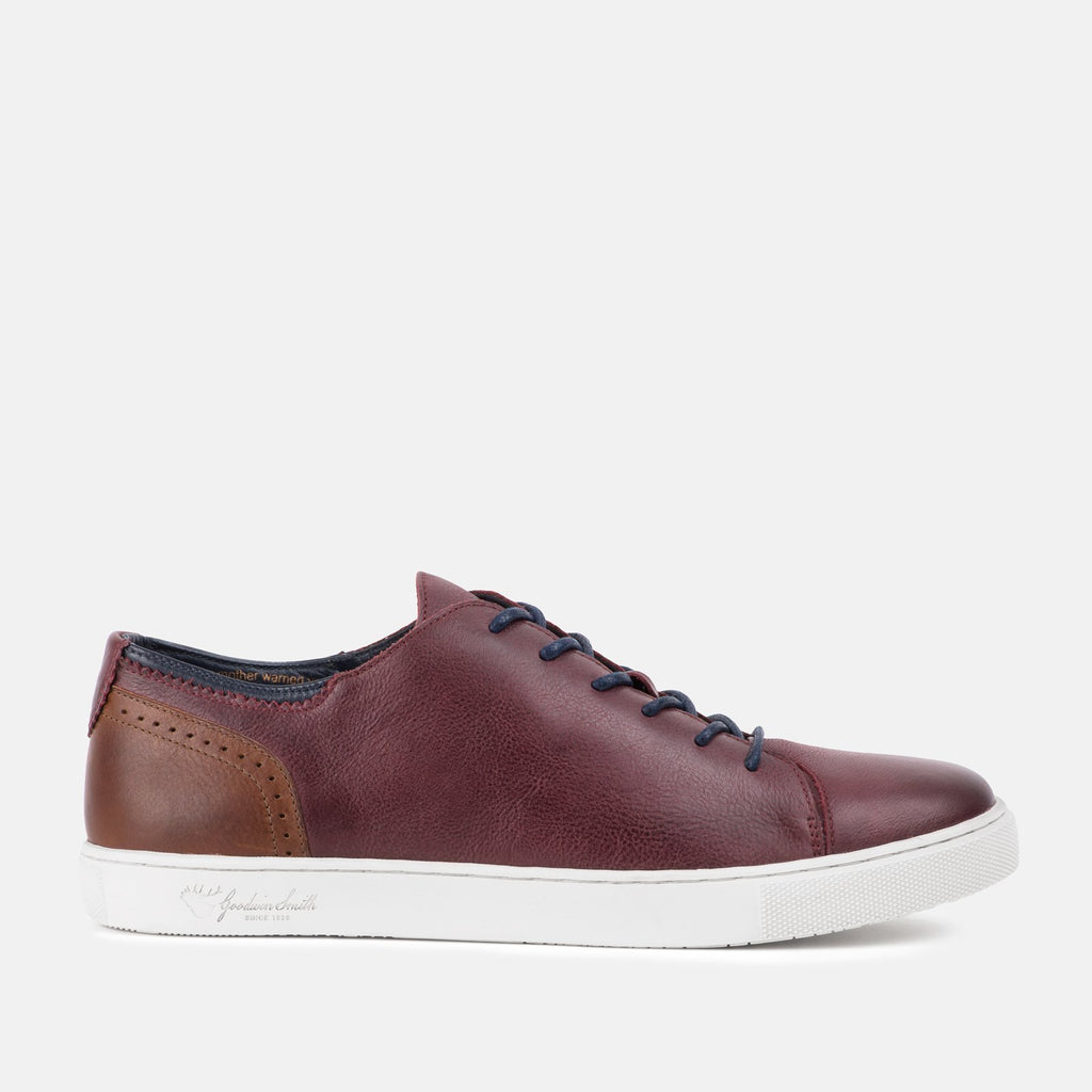 Goodwin Smith Footwear UK 6 / EU 39 / US 7 / Bordo / Leather HARLEM BORDO