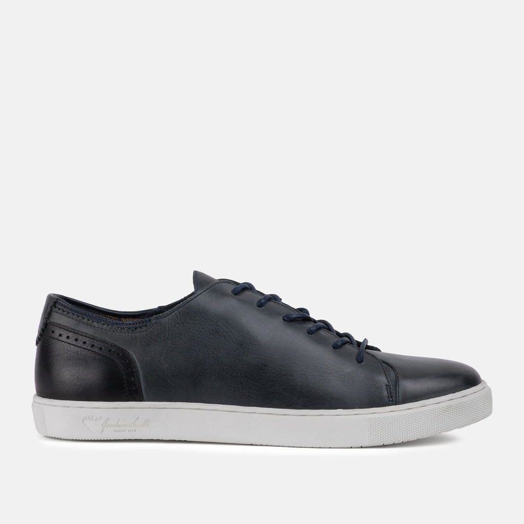 Goodwin Smith Footwear UK 6 / EU 39 / US 7 / Navy / Leather HARLEM NAVY