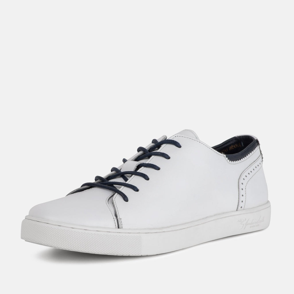 Goodwin Smith Footwear UK 6 / EU 39 / US 7 / White / Leather HARLEM WHITE