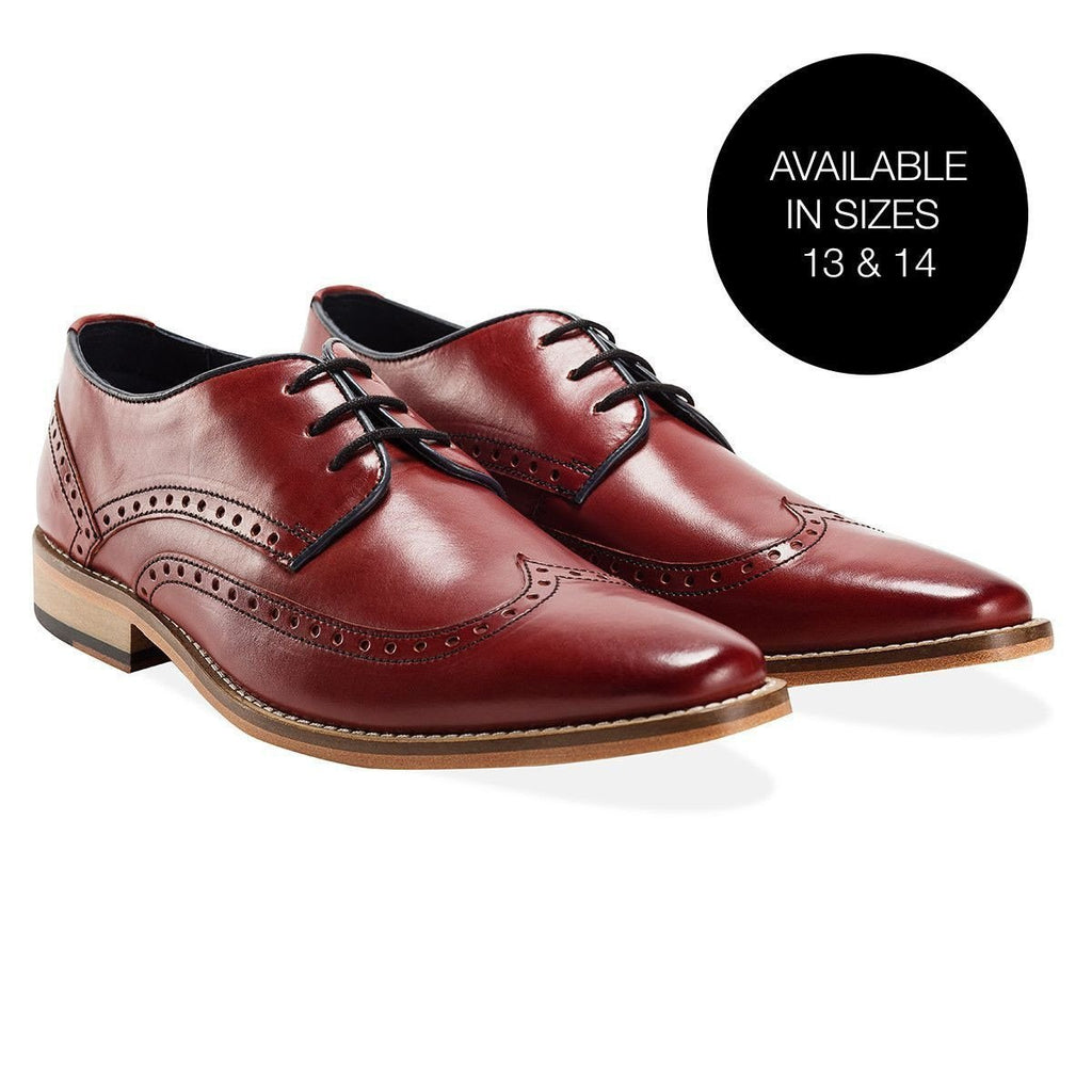 Goodwin Smith Footwear UK 6 / EU 39 / US 7 / Bordo / Leather Healey Bordo Derby
