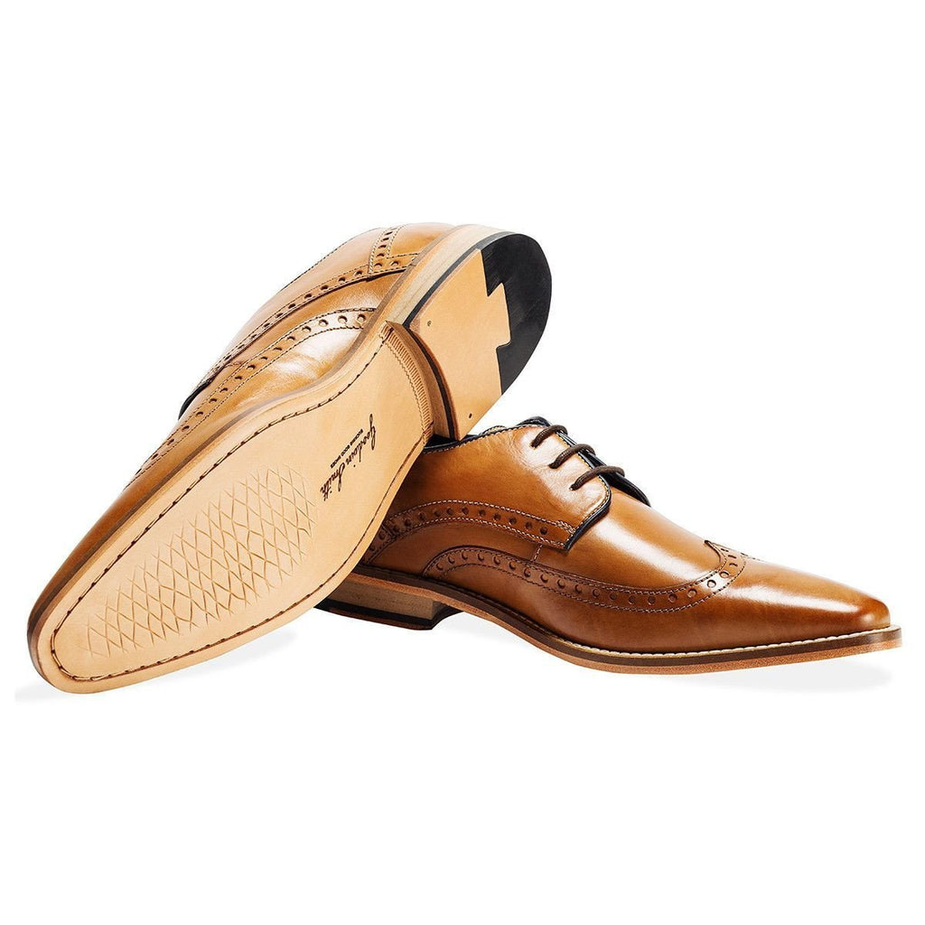 Goodwin Smith Footwear UK 6 / EU 39 / US 7 / Tan / Leather Healey Tan Derby