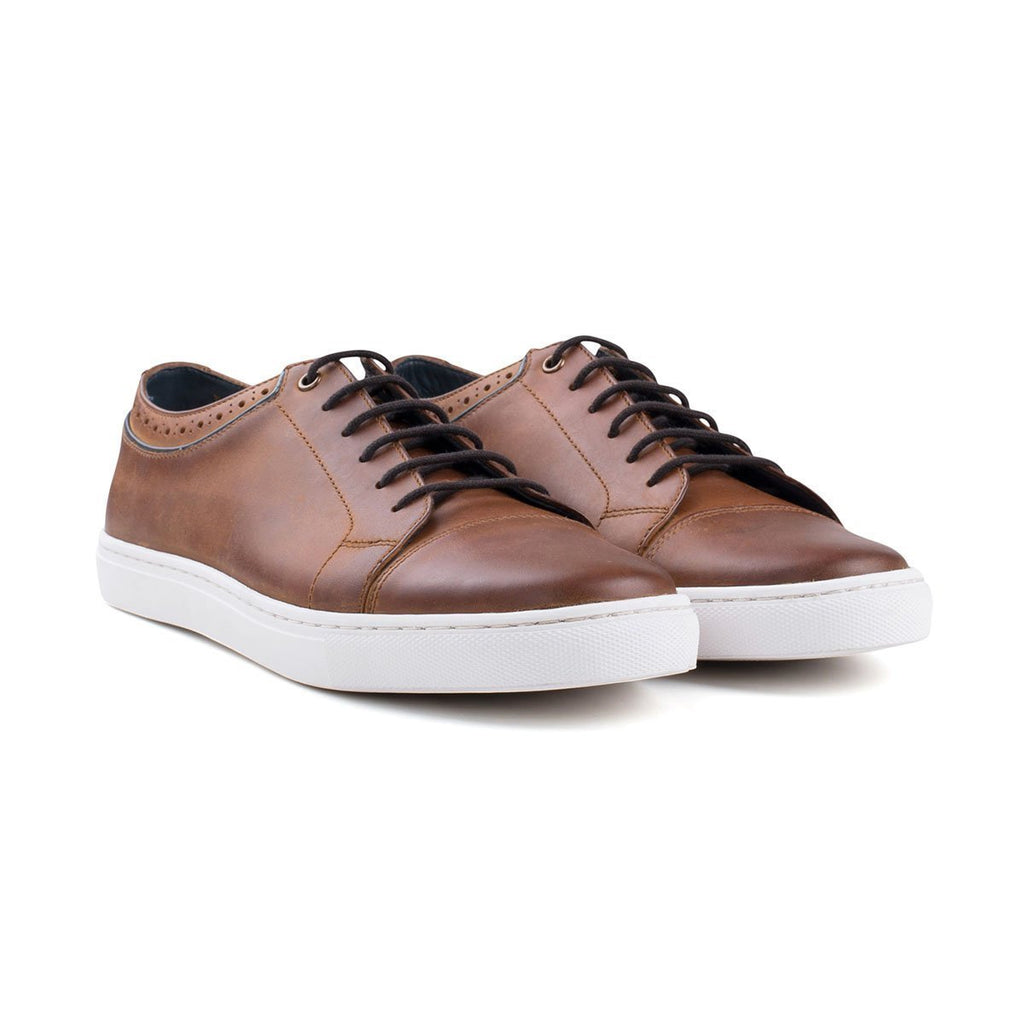Goodwin Smith Footwear UK 6 / EU 39 / US 7 / Tan / Leather HETTON TAN