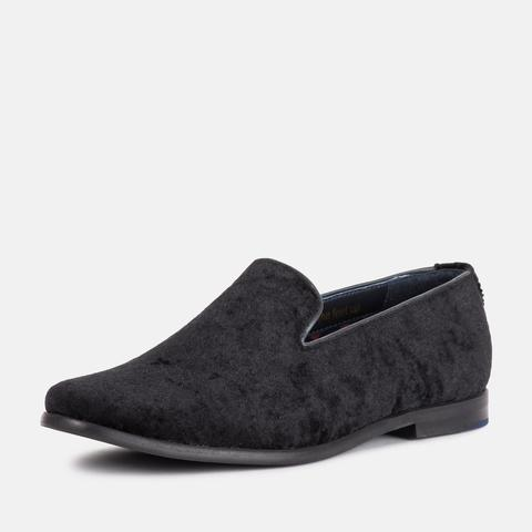 Goodwin Smith Footwear UK 6 / EU 39 / US 7 / Black / Suede HUGH BLACK