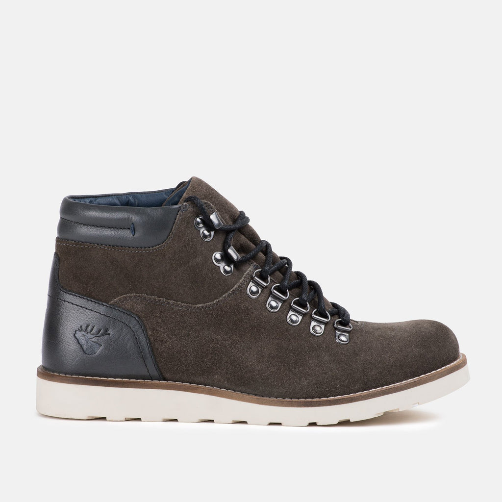 Goodwin Smith Footwear UK 6 / EU 39 / US 7 / Dark Grey / Suede KANSAS DARK GREY