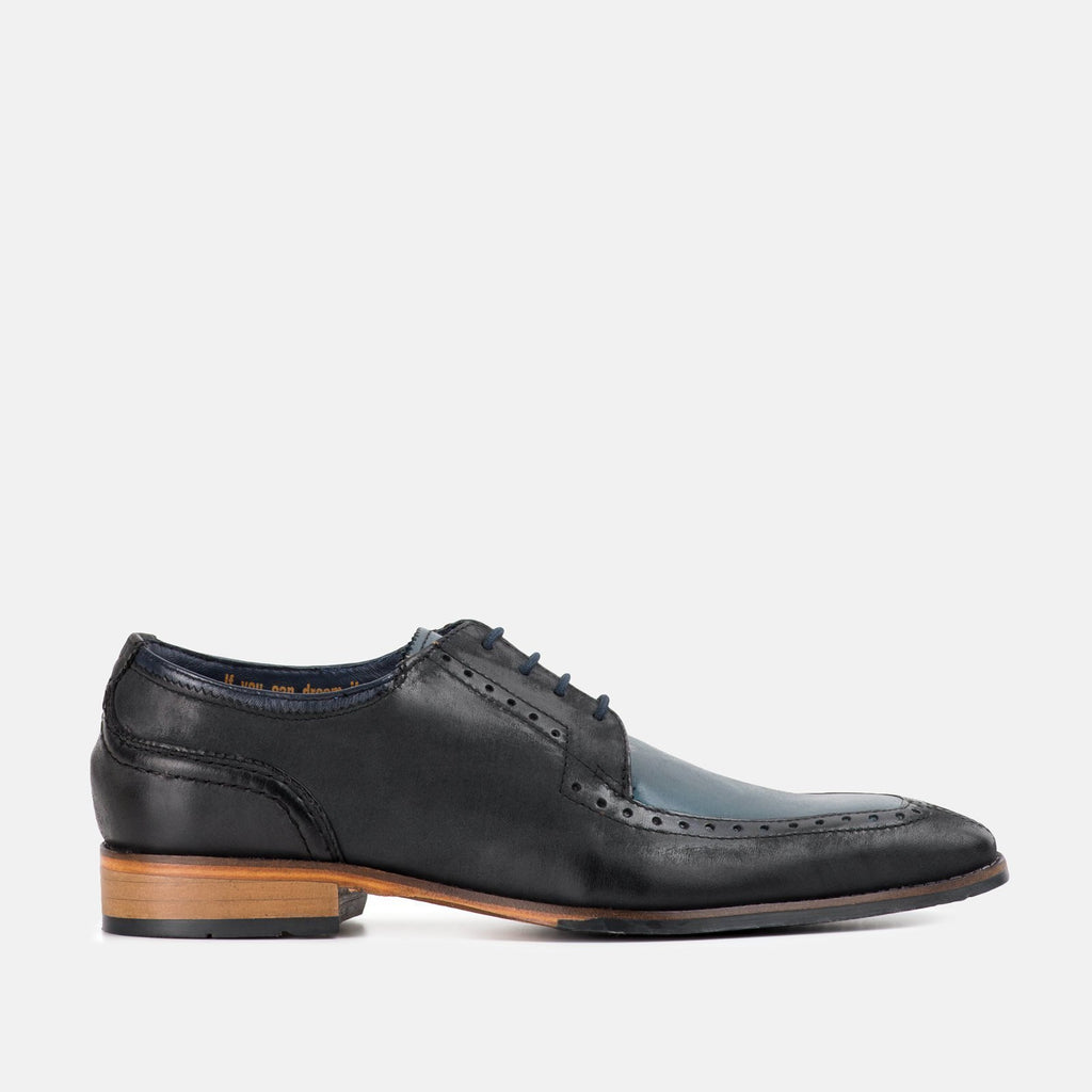 Goodwin Smith Footwear UK 6 / EU 39 / US 7 / Navy / Leather KNOWLE BLUE