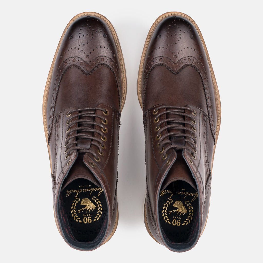 Goodwin Smith Footwear UK 6 / EU 39 / US 7 / Brown / Suede LINTON BROWN