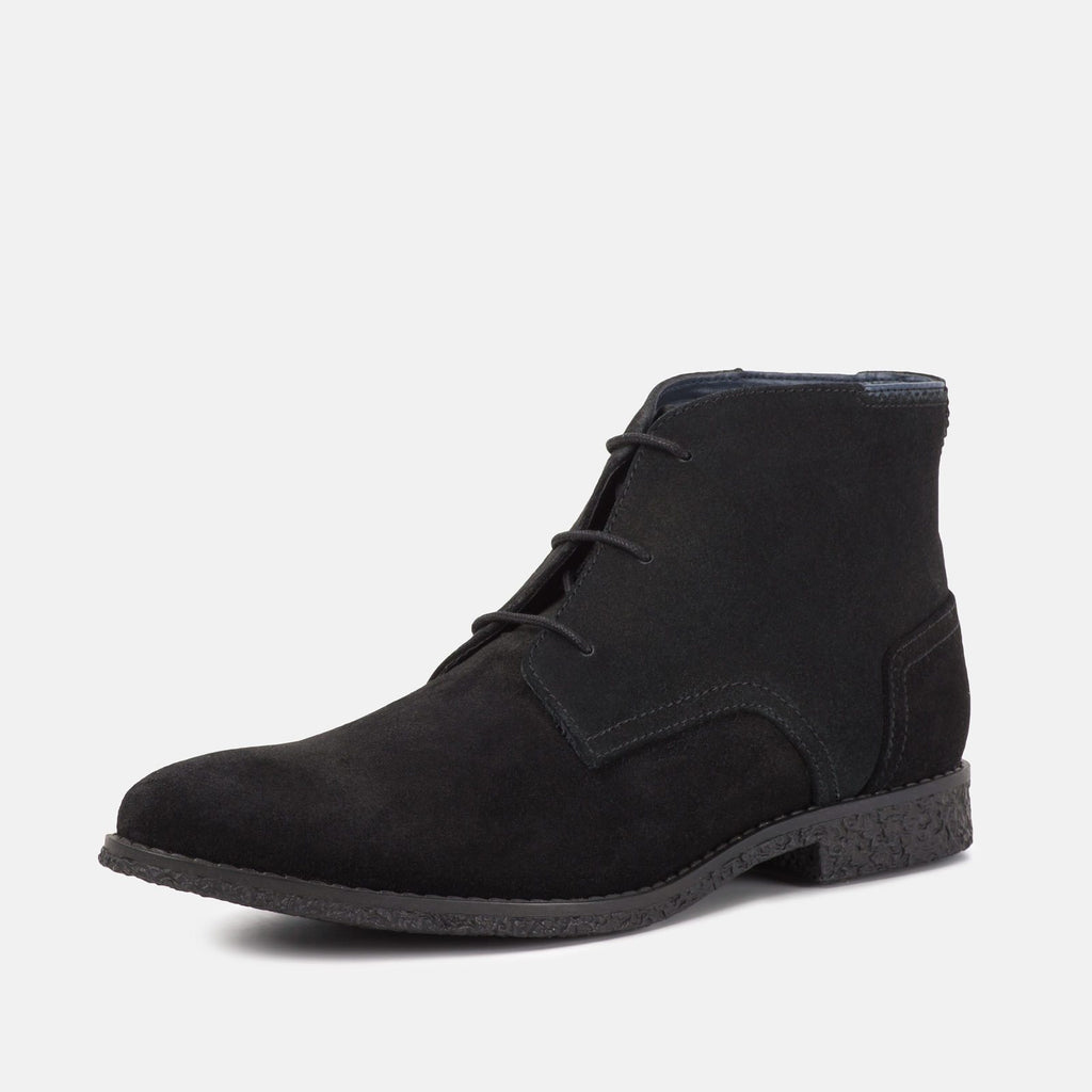 Goodwin Smith Footwear UK 6 / EU 39 / US 7 / Black / Suede Mojave Black