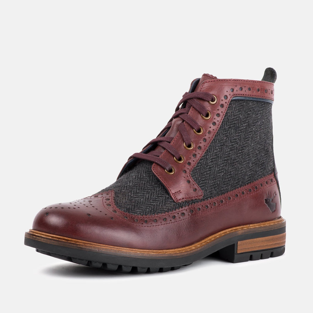 Goodwin Smith Footwear UK 6 / EU 39 / US 7 / Bordo / Leather SHERWOOD BORDO