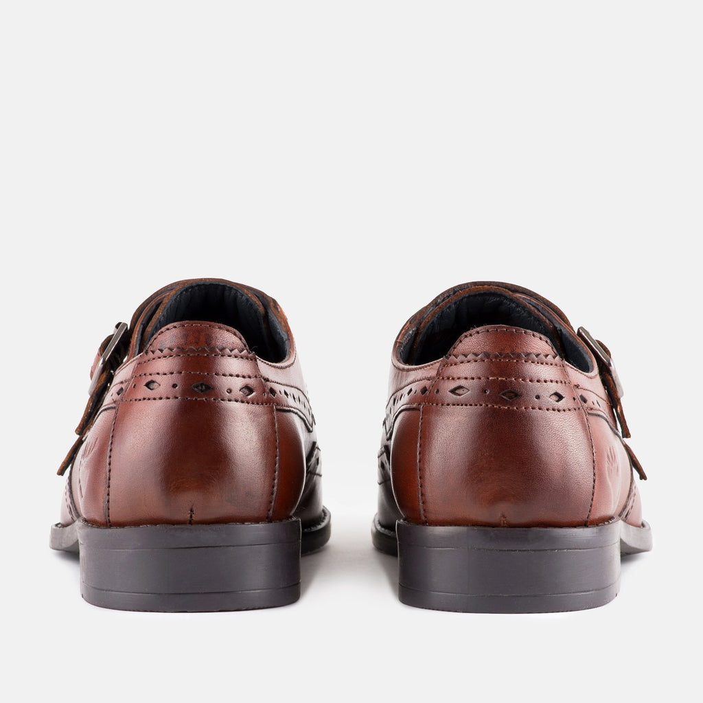 Goodwin Smith Footwear UK 6 / EU 39 / US 7 / Mahogany / Leather STAVELY MAHOGANY