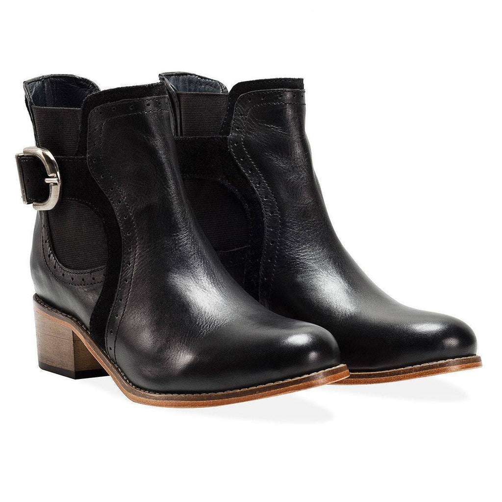 Goodwin Smith Footwear Vale Black Boot