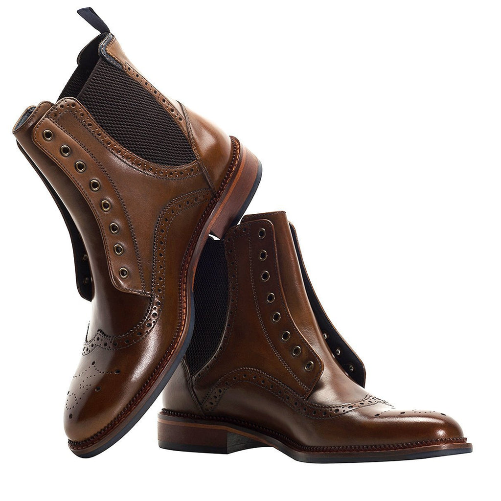 Goodwin Smith Footwear UK 6 / EU 39 / US 7 / Brown / Leather WILPSHIRE BROWN
