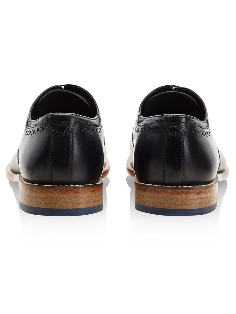 Goodwin Smith Footwear UK 6 / EU 39 / US 7 / Navy / Leather Wiswell Charcoal