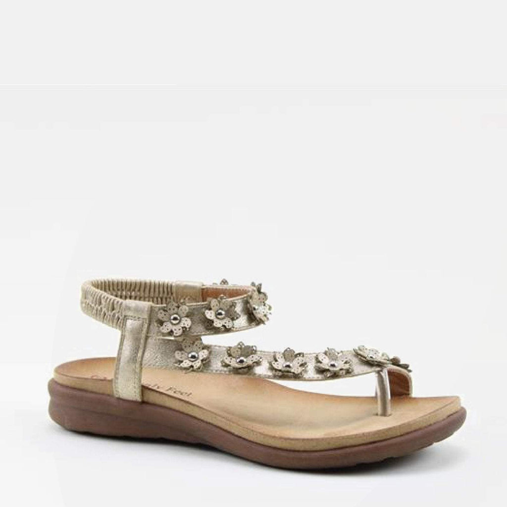 Heavenly Feet Footwear EU 36 / Gold Esme Gold