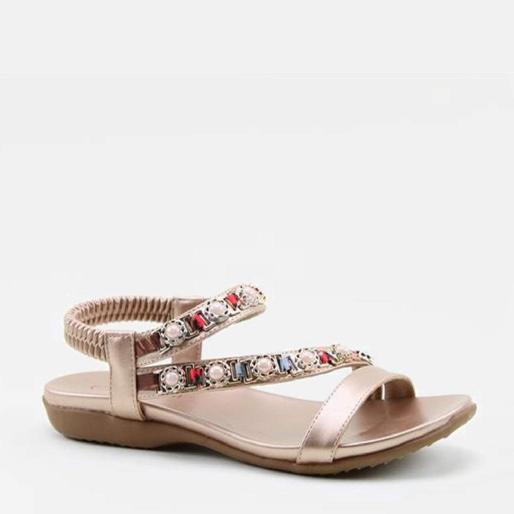 Heavenly Feet Footwear EU 36 / Rose Gold Pearle Rose Gold