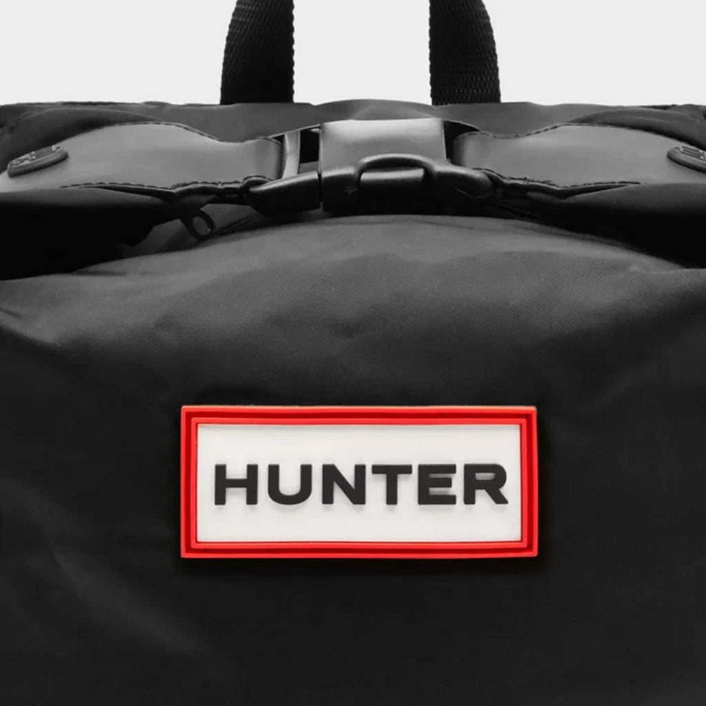 Hunter Accessories ONE / BLACK Original Mini Top Clip Backpack Nylon Black