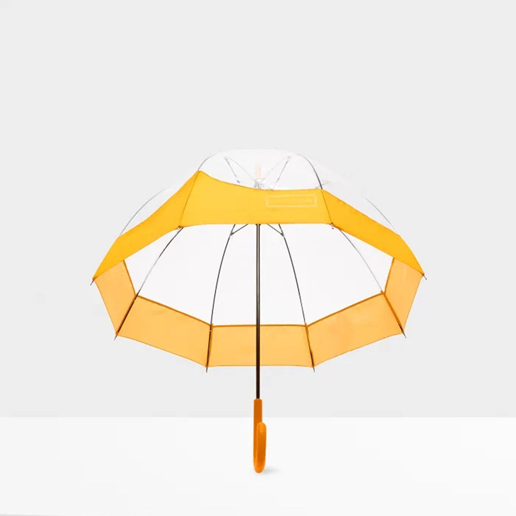 Hunter Accessories ONE / YELLOW Original Moustache Bubble Umbrella Yellow