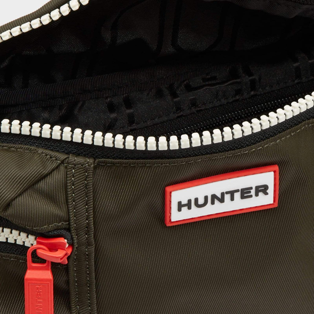 Hunter Accessories One / Green Original Nylon Bumbag Dark Olive