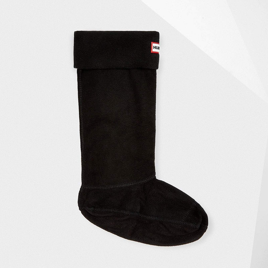 Hunter Accessories M / Black Unisex Tall Boots Socks Black
