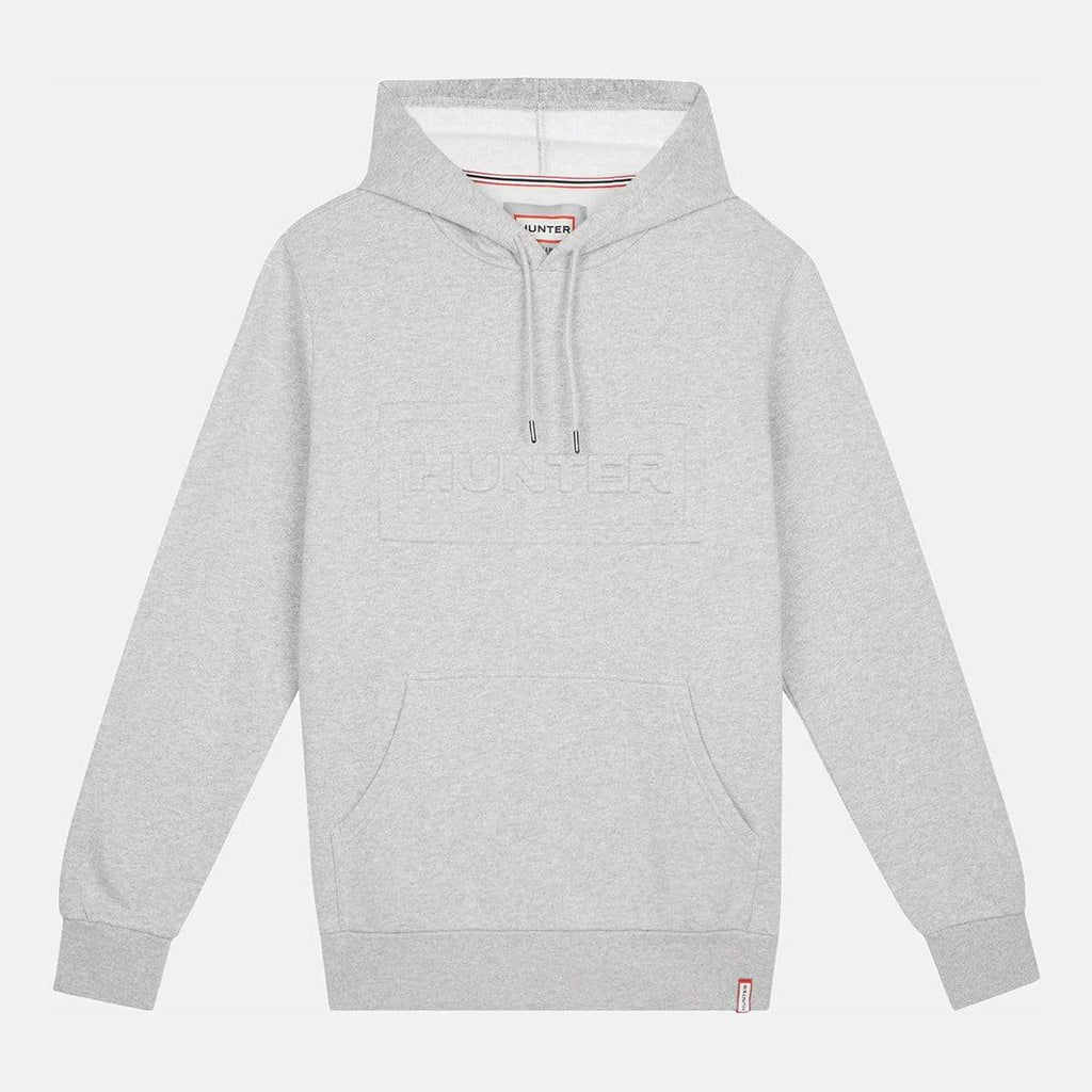 Hunter Apparel Mens Original Hoodie Grey Marl