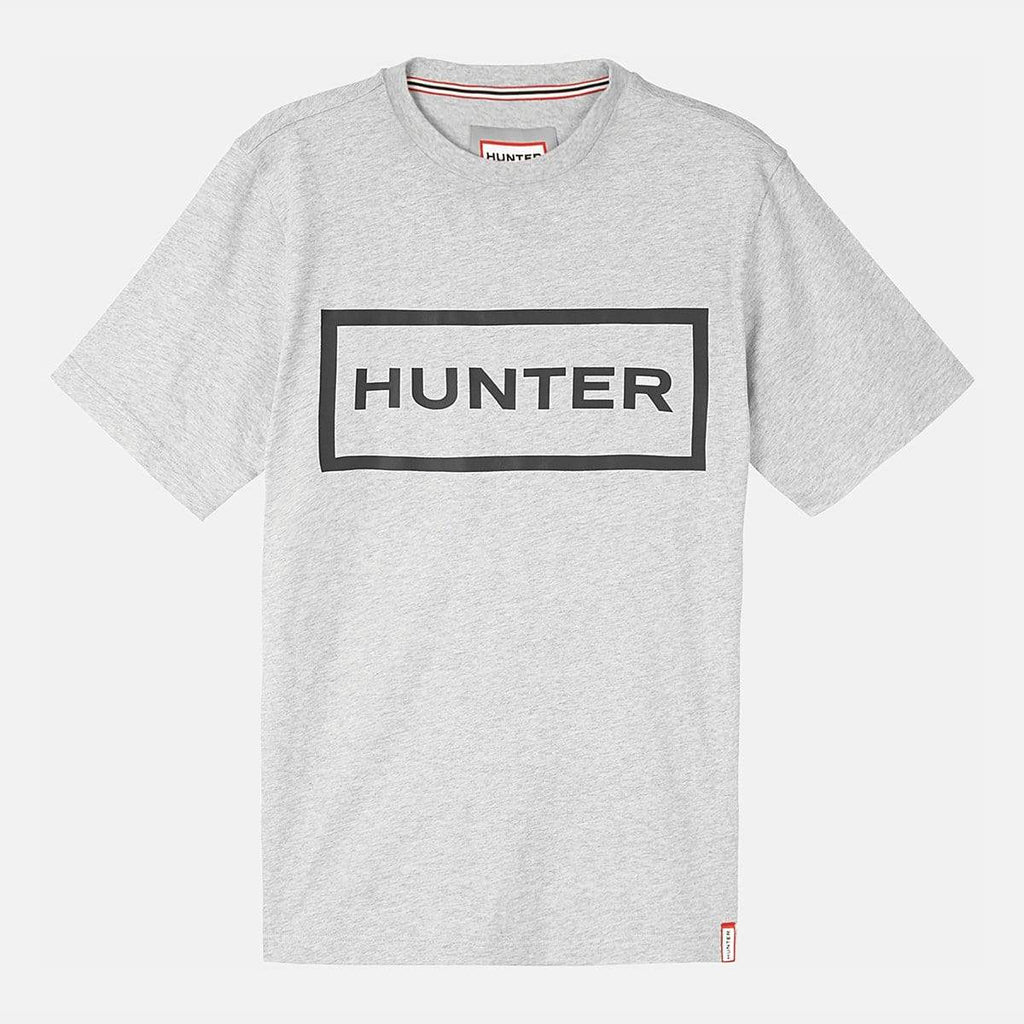 Hunter Apparel Mens Original T- Shirt Grey Marl/Black