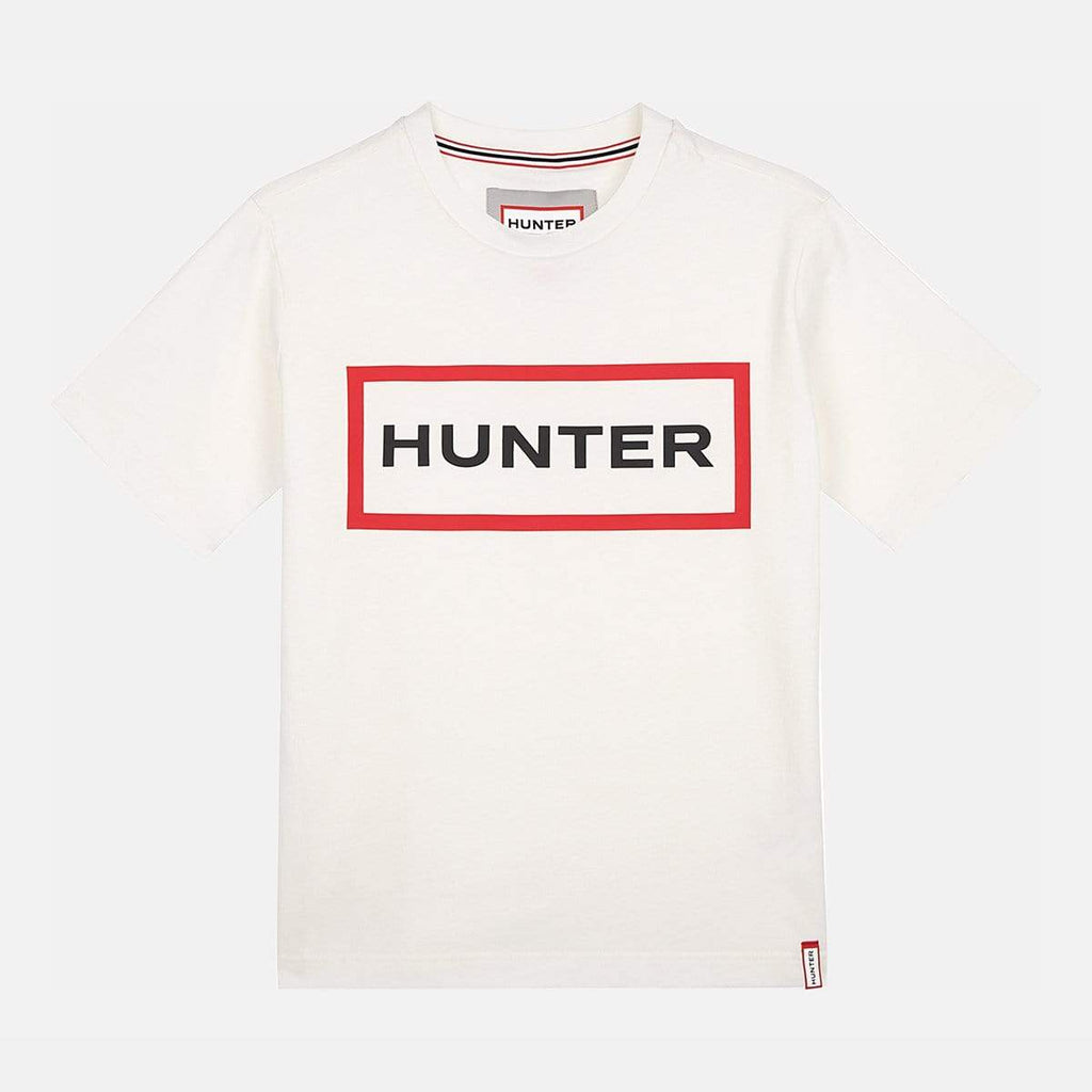 Hunter Apparel Womens Original T- Shirt Logo Print