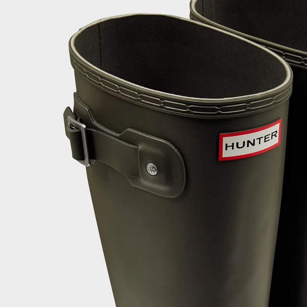 Hunter Footwear UK 8 / EU 42 / US 9 / DARK OLIVE Men's Original Tall Wellington Boots Dark Olive