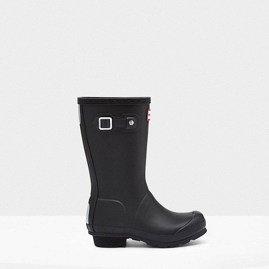 Hunter Footwear CHILDS UK 12 / BLACK Original Kids Wellington Boots Black