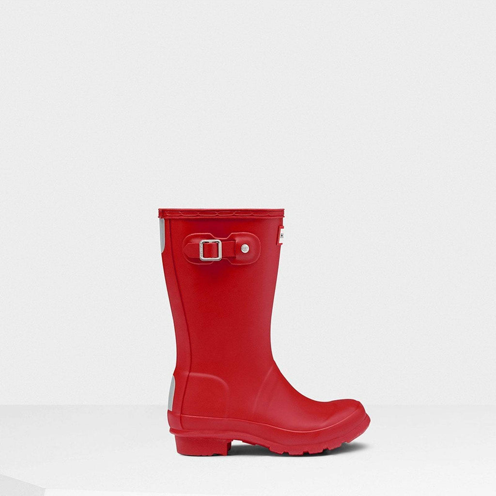 Hunter Footwear CHILDS UK 12 / MILITARY RED Original Kids Wellington Boots Military Red