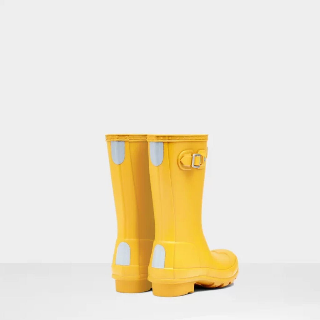 Hunter Footwear CHILDS UK 12 / YELLOW Original Kids Wellington Boots Yellow