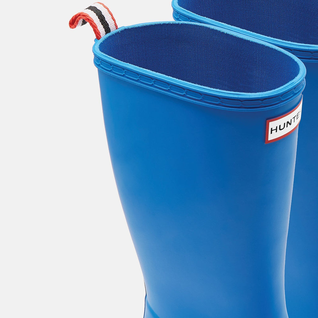 Hunter Footwear UK 4 / EU 37 / US 6 / Blue Original Play Tall Wellington Boots Bucket Blue