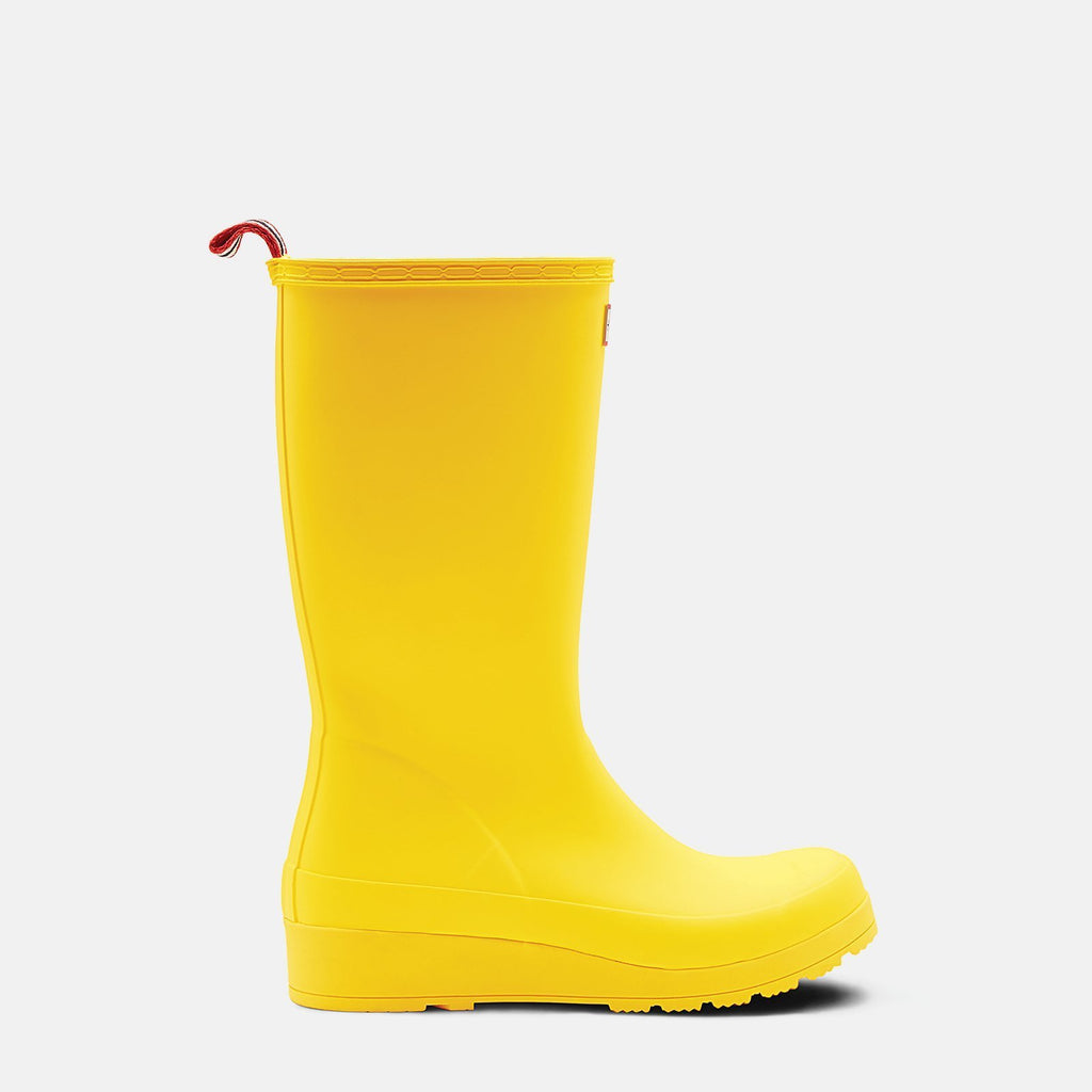 Hunter Footwear UK 4 / EU 37 / US 6 / Yellow Original Play Tall Wellington Boots Wader Yellow