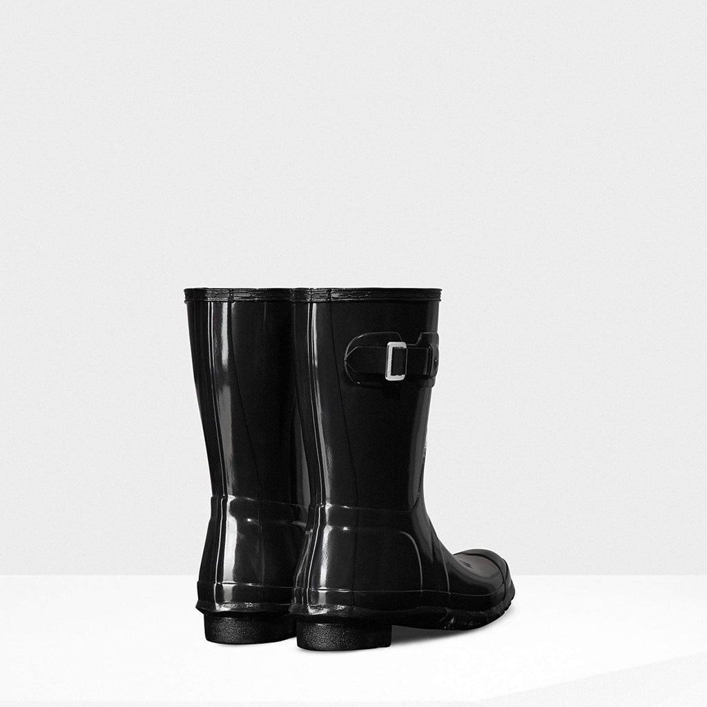 Hunter Footwear UK 4 / EU 37 / US 6 / Black Women's Original Short Gloss Wellington Boots Black