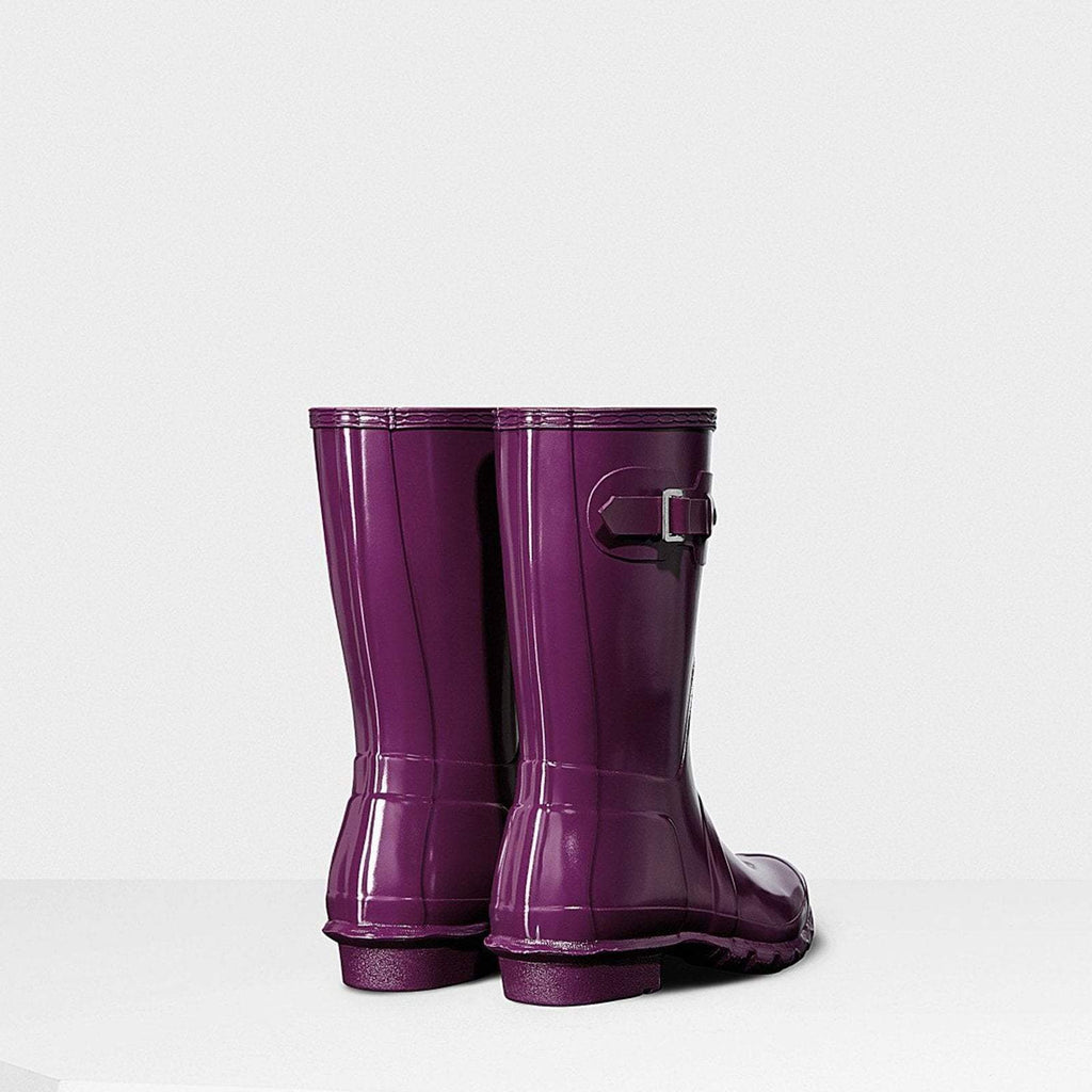 Hunter Footwear UK 4 / EU 37 / US 6 / Violet Women's Original Short Gloss Wellington Boots Violet