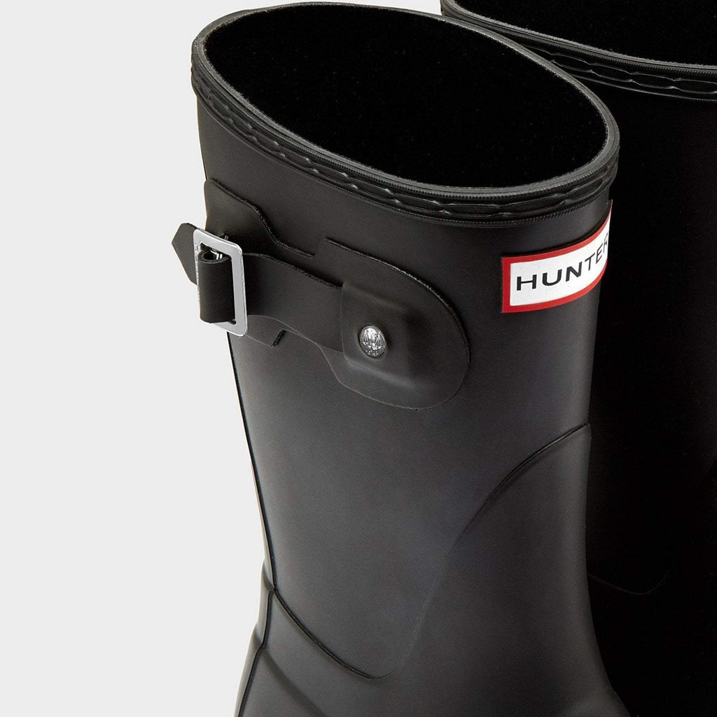 Hunter Footwear UK 3 / EU 35-36 / US 5 / Black Women's Original Short Wellington Boots Black
