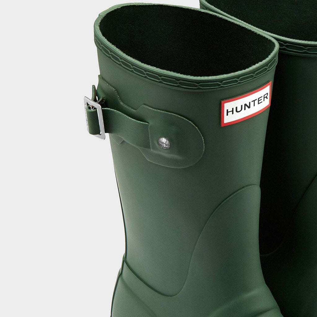 Hunter Footwear UK 4 / EU 37 / US 6 / Hunter Green Women's Original Short Wellington Boots Hunter Green