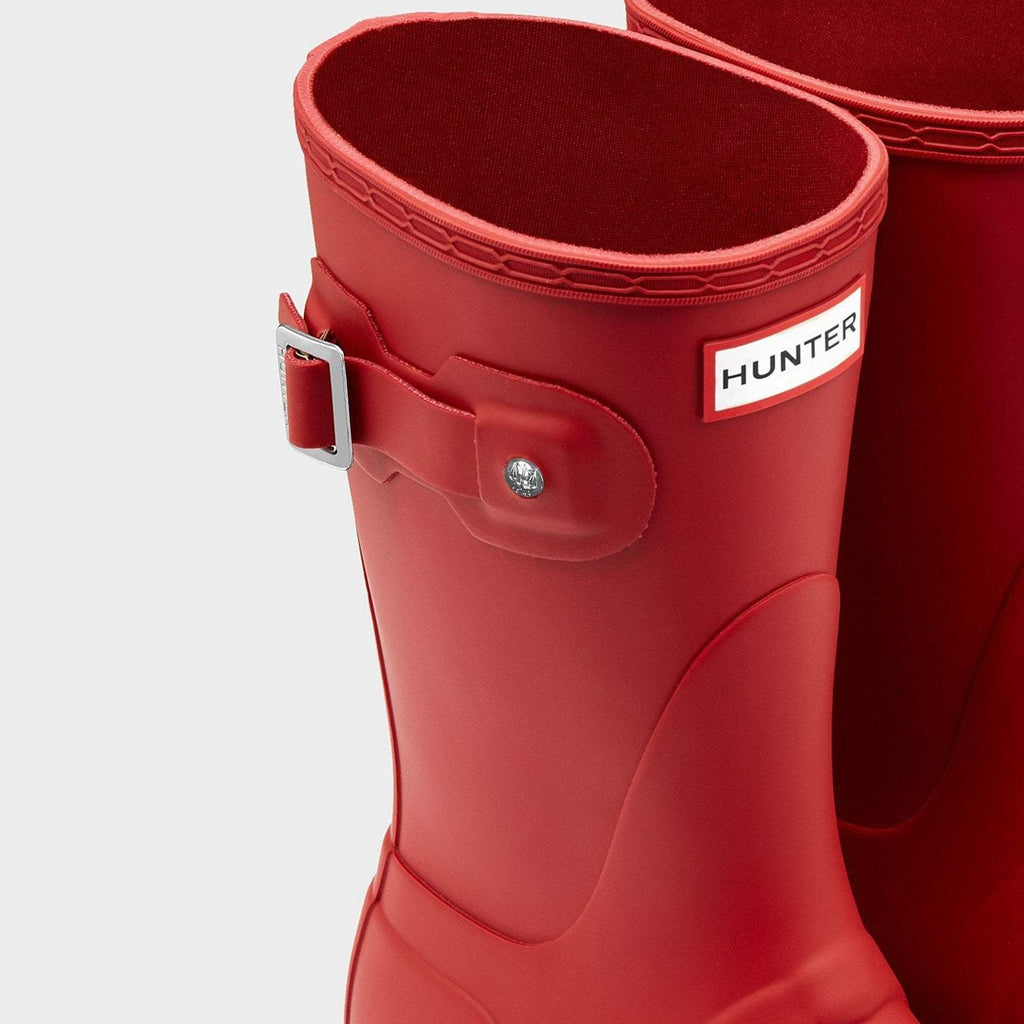 Hunter Footwear UK 4 / EU 37 / US 6 / Military Red Women's Original Short Wellington Boots Military Red