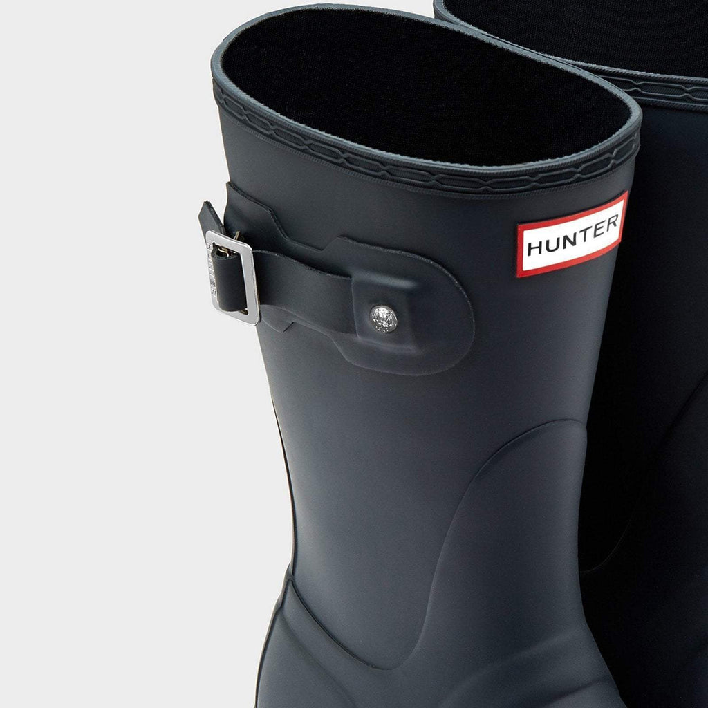Hunter Footwear UK 3 / EU 35-36 / US 5 / Navy Women's Original Short Wellington Boots Navy