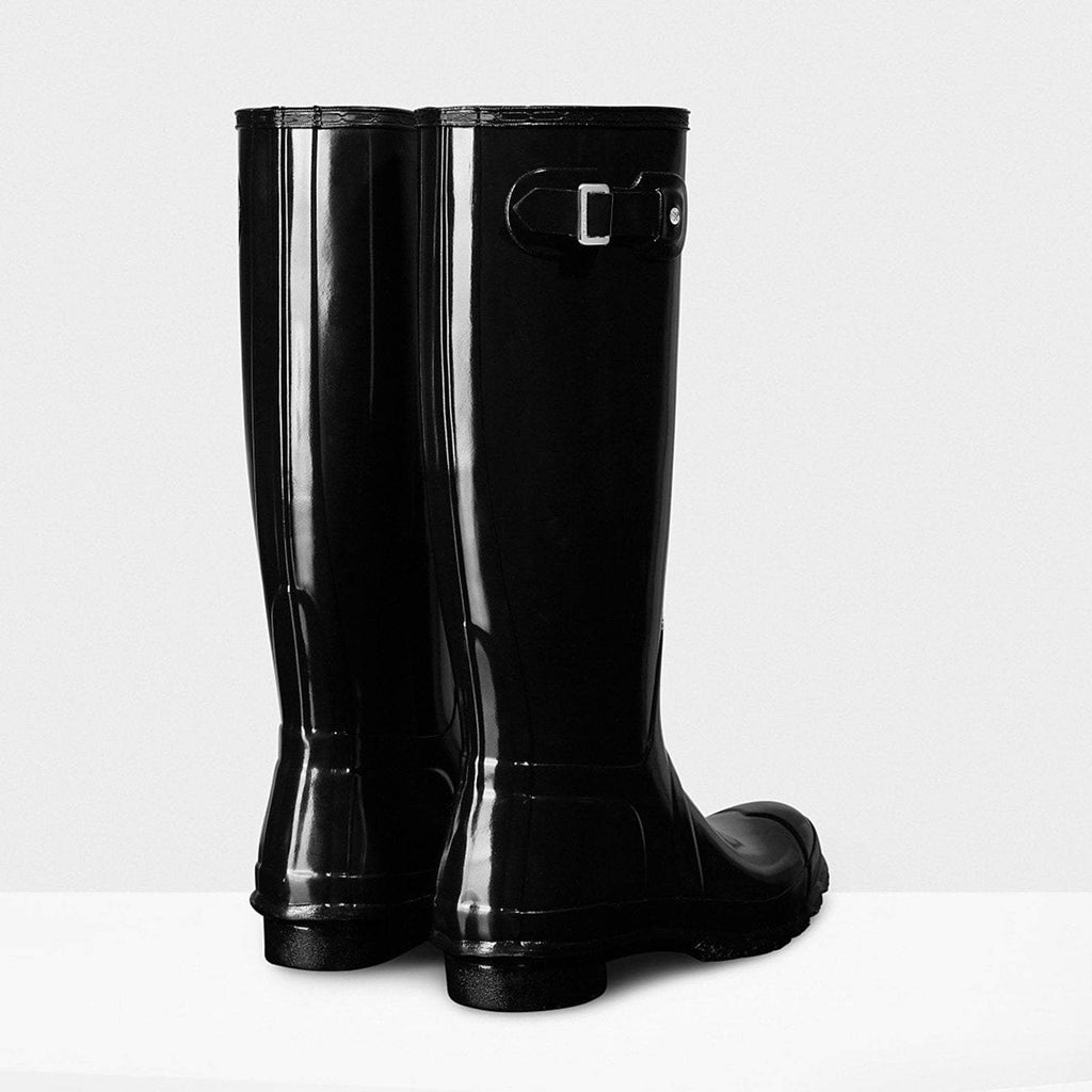 Hunter Footwear UK 4 / EU 37 / US 6 / Black Women's Original Tall Gloss Wellington Boots Black