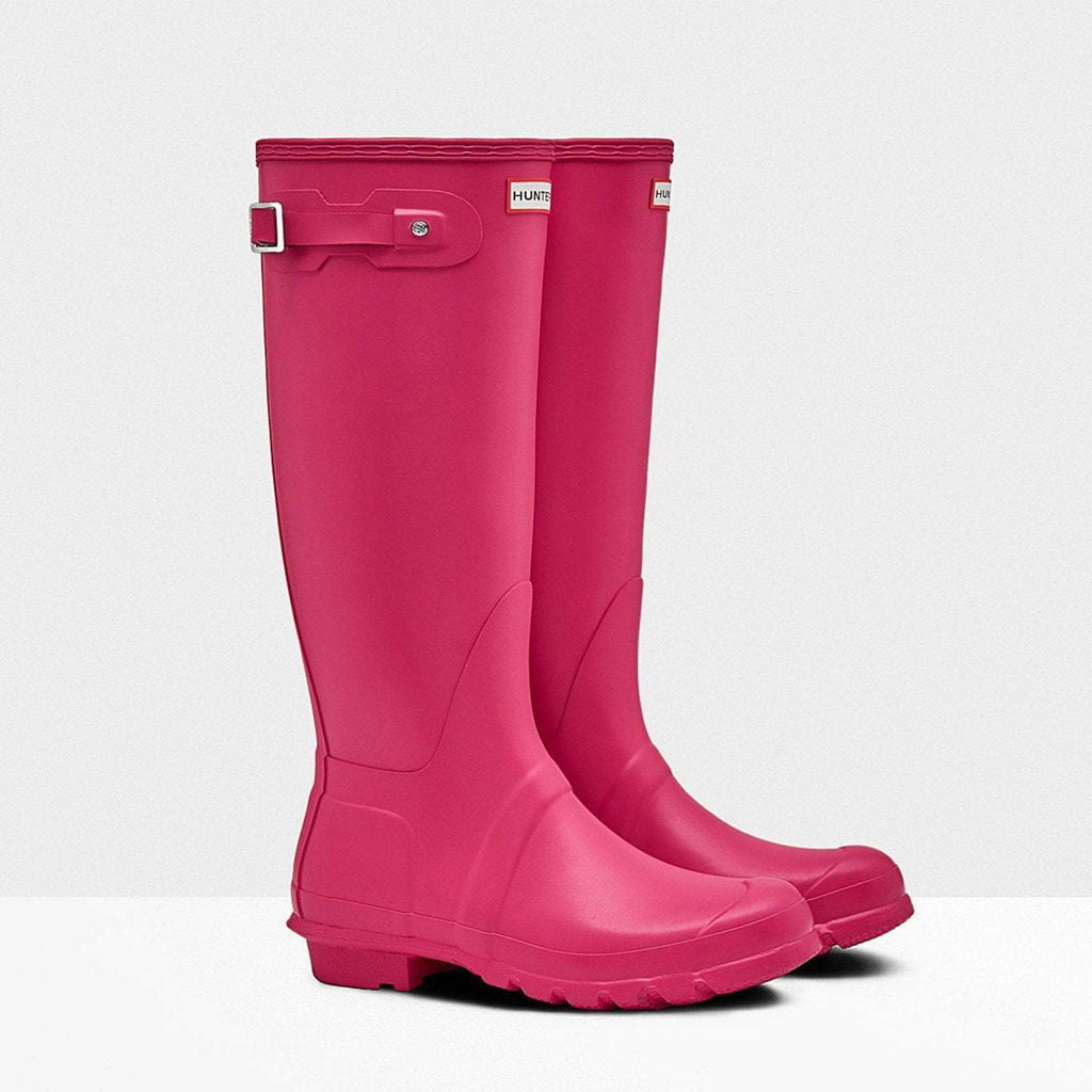 Hunter Footwear UK 4 / EU 37 / US 6 / Bright Pink Women's Original Tall Wellington Boots Bright Pink